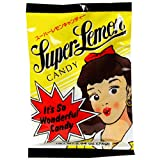 Santa Japanese Candy, Super Lemon Sour, 2.6-Ounce Bags (Pack of 20) ~ Santa