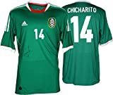 Javier Hernandez Autographed Jersey - Chicharito Mexico Green Back Memories - Fanatics Authentic Certified