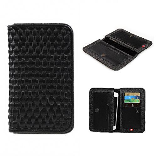 d-park-5-57-inch-universal-woven-leather-wool-felt-smartphone-wallet-case-in-black-elegant-genuine-l