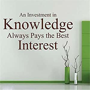 An investment in knowledge pays the best interest essay
