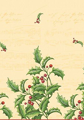 Duni Tischdecke aus Dunicel 120 x 180 cm Holly & Berries