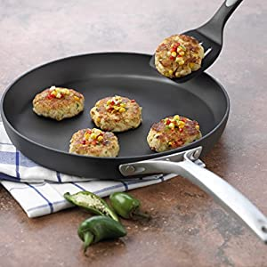 Calphalon Unison Nonstick 12-Inch Round Griddle Pan