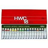 ホルベイン 透明水彩絵具 18色セット