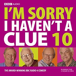 I'm Sorry I Haven't a Clue, Volume 10 Radio/TV Program