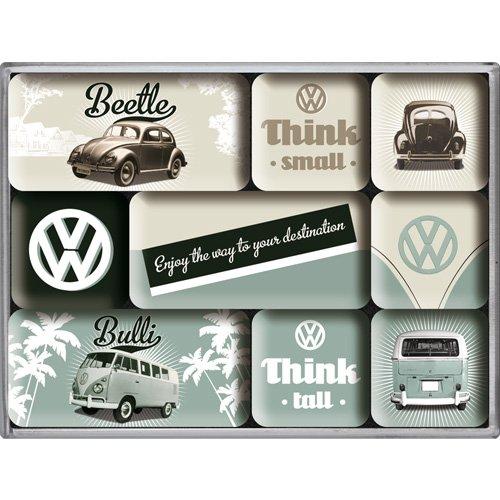 volkswagen-think-small-think-tall-fridge-magnet-set