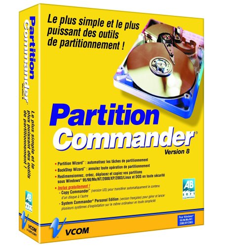Partition Commander 8.0 (vf)