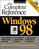 Windows 98: The Complete Reference (0078823439) by Levine, John R.