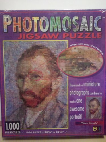 Photomosaics 1000-Piece Jigsaw Puzzle: Van Gogh