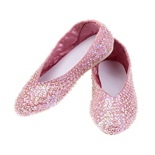 Rose & Romeo - 11021 - Costumi Accessori - Scarpe - Lily - Rose - Taglia 30