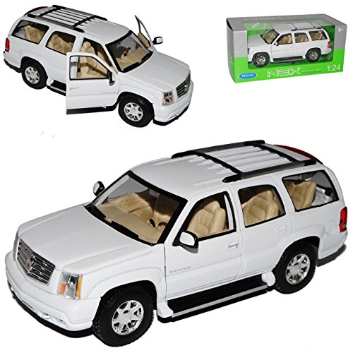 cadillac-escalade-weiss-suv-gmt800-2-generation-2001-2006-1-24-welly-modell-auto