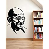 Decal Style Gandhi Wall Sticker Small Size-14*19 Inch