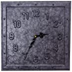 Galvenized Metal Clock