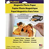 ProMAG 8.5 x 11 Inches Inkjet Printable Magnetic Sheets