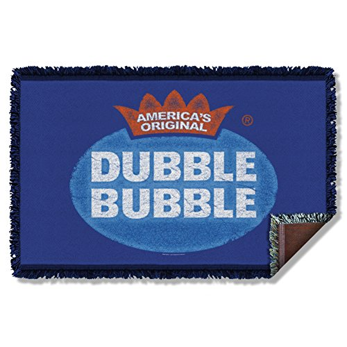 Dubble Bubble Vintage Logo Woven Throw DBL163TAP