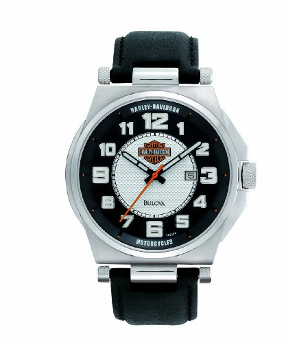 Harley-Davidson® Men's Bulova® Watch 76B156