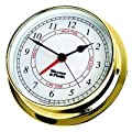 Weems & Plath Endurance Collection 125 Time and Tide Clock (Brass) from Weems & Plath