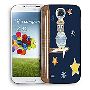 Snoogg Christmas Snow 2468 Designer Protective Back Case Cover For Samsung Galaxy S4