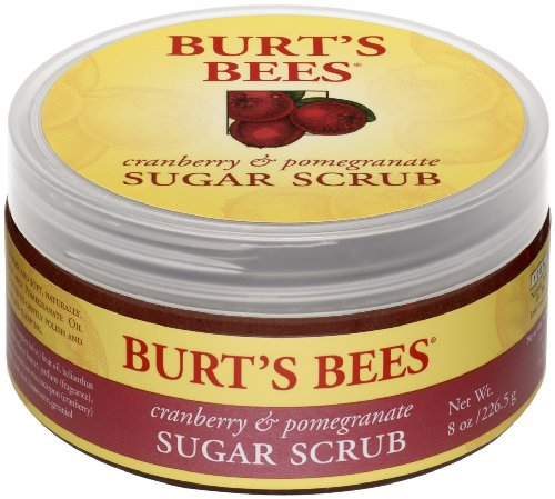 Burt's Bees Cranberry & Pomegranate Sugar Scrub, 8Ounce (Pack of 3)