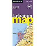 Lebanon Map (Road Maps)