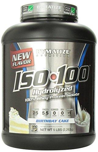 Dymatize Nutrition Iso  Birthday Cake  Pound