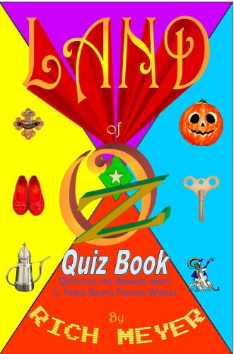 The Land of Oz Quiz Book cover