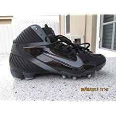 Buy nike mens Alpha Speed TD football cleats Style# 442244-002 size 10 by Nike