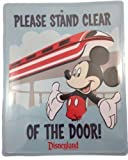 Disney Parks Monorail Entry Sign with Mickey Mouse