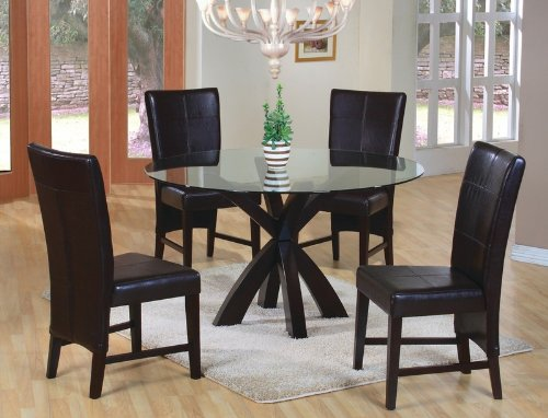 5pc-dining-table-parson-chairs-set-rich-cappuccino-finish