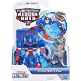 Transformers Rescue Bots Energize Playskool Heroes Action Figure Optimus & Trex