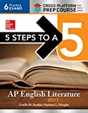 img - for 5 Steps to a 5: AP English Literature 2017, Cross-Platform edition book / textbook / text book