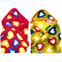 Casa Confort Single Baby Blanket In Multi-Colour(CC_BB_80)