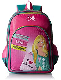Simba 16 Inches Pink And Blue Children's Backpack (IBTS-1257)