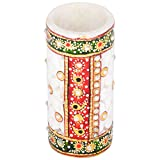 Art-n-crafts Beautiful Round Shape Marble Pen Holder