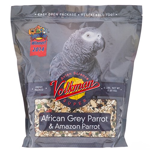 Volkman Avian Science Super African Grey Bird Food 4 Lb