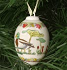 Hutschenreuther 2002 Egg Christmas Ornament