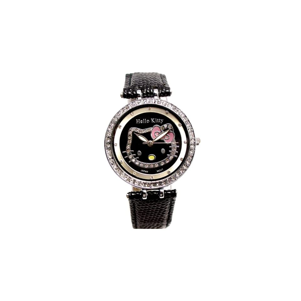 Sanrio Hello Kitty Crystal WristWatch Wrist Watch