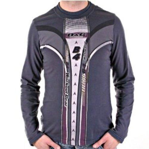 D & G Dolce & Gabbana da uomo Slim Fit Top grigio lavata dgm3024 Grigio grigio