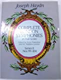 Complete London Symphonies in Full Score: Series II, Nos. 99-104 (0486249832) by Joseph Haydn