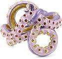 """Disney """"Little Mermaid"""" Hinged Octopus Bracelet and Purple Enamel"""