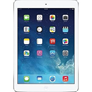 Apple iPad Air MF529LL/A (32GB, Wi-Fi + AT&T, White with Silver) NEWEST VERSION