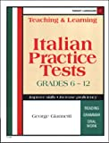 img - for Teaching and Learning Italian: Practice Tests (Italian Edition) book / textbook / text book