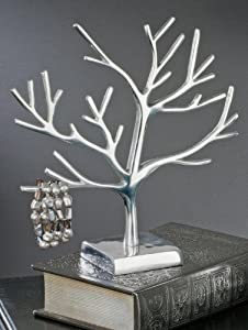 "Jewelry Organizers Aluminum Jewelry Display Tree, 12""H, Modern Jewelry Organizer at Sears.com"