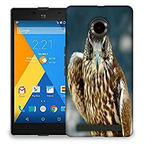 Snoogg Abstract Eagle Designer Protective Back Case Cover For MICROMAX YU YUPHORIA