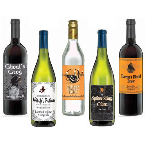 Wine Bottle Labels (5 count)