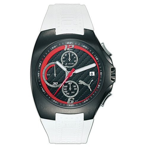Puma Men's Gear Chronograph White Rubber Watch #PU130F5A0213.933 - Buy Puma Men's Gear Chronograph White Rubber Watch #PU130F5A0213.933 - Purchase Puma Men's Gear Chronograph White Rubber Watch #PU130F5A0213.933 (Puma, Jewelry, Categories, Watches, Men's Watches, Casual Watches, Rubber Banded)