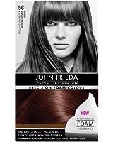 John Frieda Precision Foam Colour Brilliant Brunette 5C Medium Copper Brown
