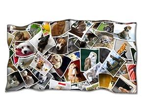 Manta personalizada con tu foto manta polar 120 x 190 cm - Mantas personalizadas con fotos ...