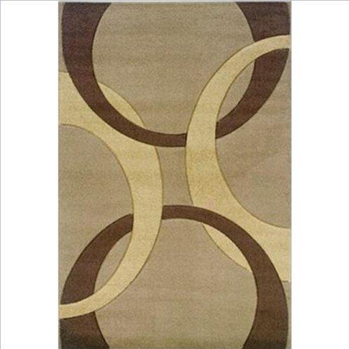 Corfu Collection Tan & Brown 8 x 10.3