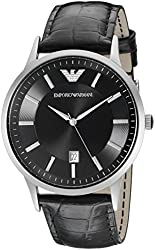 Emporio Armani Men's AR2411 Classic Stainless Steel Watch