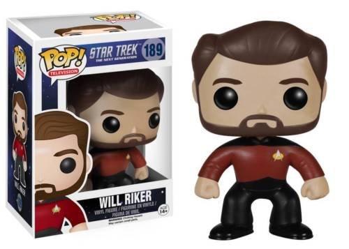Funko POP! TV Star Trek The Next Generation Will Riker Vinyl Action Figure 189